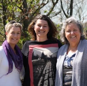 Equine Studies team: Zefanja Raquel en Sharon